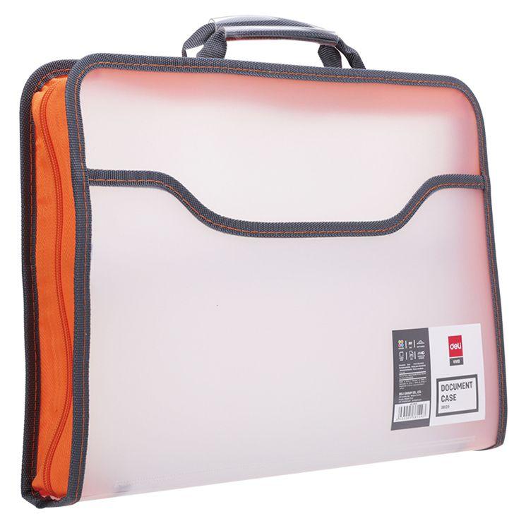 Папка-портфель Deli E38129 A4 полипропилен дополнительный вид 2