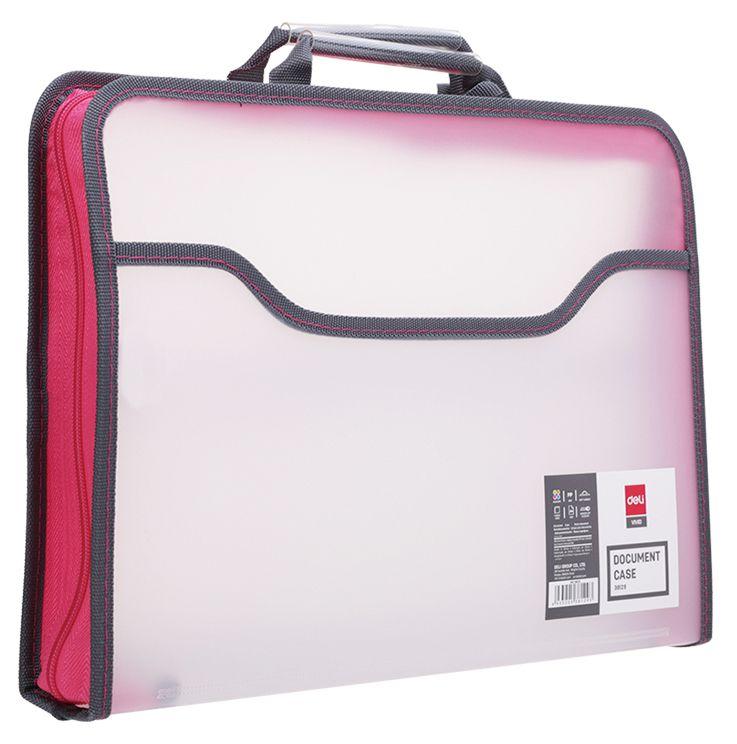 Папка-портфель Deli E38129 A4 полипропилен дополнительный вид 3