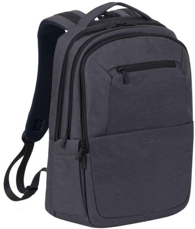 """Рюкзак для ноутбука 16"""" Riva 7765 черный полиэстер"""