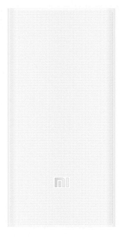Мобильный аккумулятор Xiaomi Mi Power Bank 2C Li-Pol 20000mAh 2.4A+2.4A белый 2xUSB
