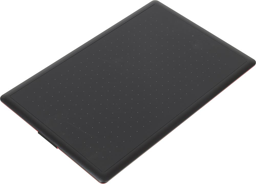 Графический планшет Wacom One CTL-672-N USB черный/красный