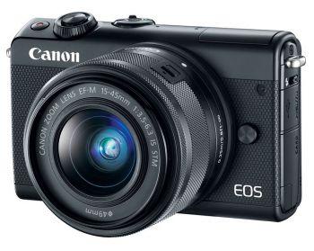 Фотоаппарат Canon EOS M100 черный 24.2Mpix 3