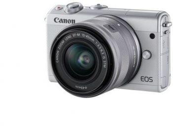 Фотоаппарат Canon EOS M100 белый 24.2Mpix 3