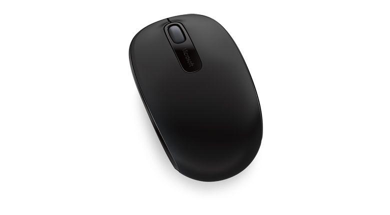 Мышь Microsoft Mobile Mouse 1850 for business черный оптическая (1000dpi) беспроводная USB для ноутбука (2but)