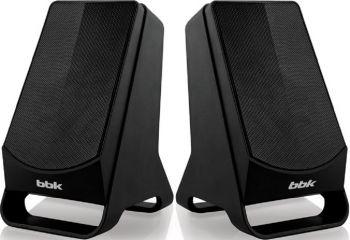 Колонки BBK CA-199S 2.0 черный 6Вт