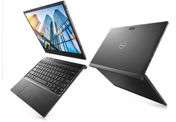 "Планшет Dell Latitude 7285 Core i5 7Y54 (1.2) 2C/RAM8Gb/ROM256Gb 12.3"" IPS 2880x1920/Windows 10 Professional 64/черный/8Mpix/5Mpix/BT/WiFi/Touch"