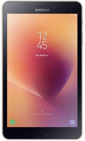 "Планшет Samsung Galaxy Tab A SM-T385 (1.4) 4C/RAM2Gb/ROM16Gb 8"" TFT 1280x800/3G/4G/Android 7.0/золотистый/8Mpix/5Mpix/BT/GPS/WiFi/Touch/microSD 256Gb/5000mAh"