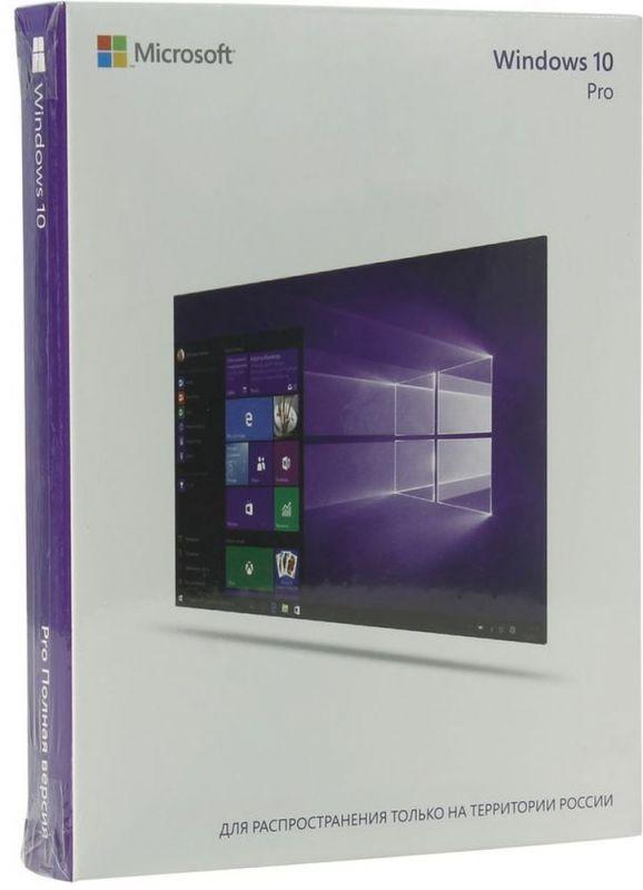 Операционная система Microsoft Windows 10 Professional 32/64 bit Rus Only USB RS (FQC-10150)