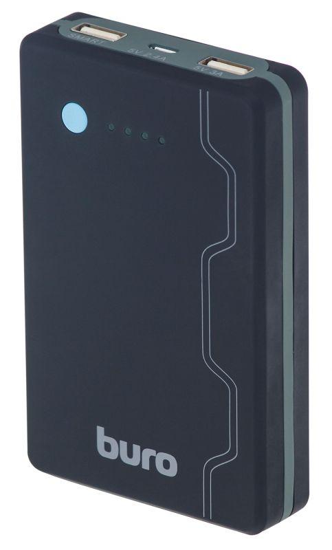 Мобильный аккумулятор Buro RA-13000-QC3.0 Li-Ion 13000mAh 3A+1.5A черный 3xUSB