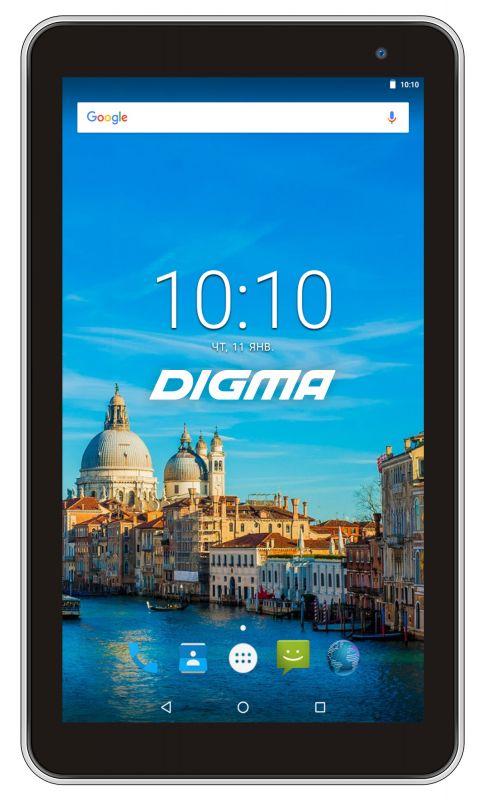 "Планшет Digma Optima 7017N 3G MT8321 (1.3) 4C/RAM2Gb/ROM16Gb 7"" IPS 1024x600/3G/Android 7.0/белый/2Mpix/0.3Mpix/BT/GPS/WiFi/Touch/microSD 64Gb/minUSB/2500mAh"