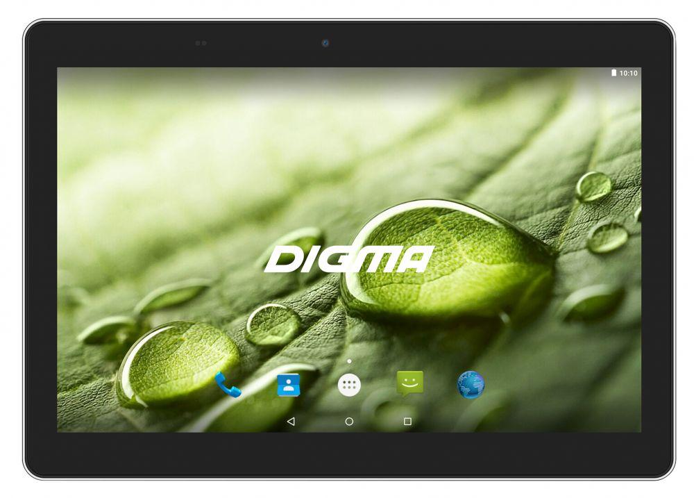 "Планшет Digma Optima 1022N 3G MTK8321 (1.3) 4C/RAM1Gb/ROM16Gb 10.1"" IPS 1280x800/3G/Android 7.0/черный/2Mpix/0.3Mpix/BT/GPS/WiFi/Touch/microSD 64Gb/minUSB/5000mAh"