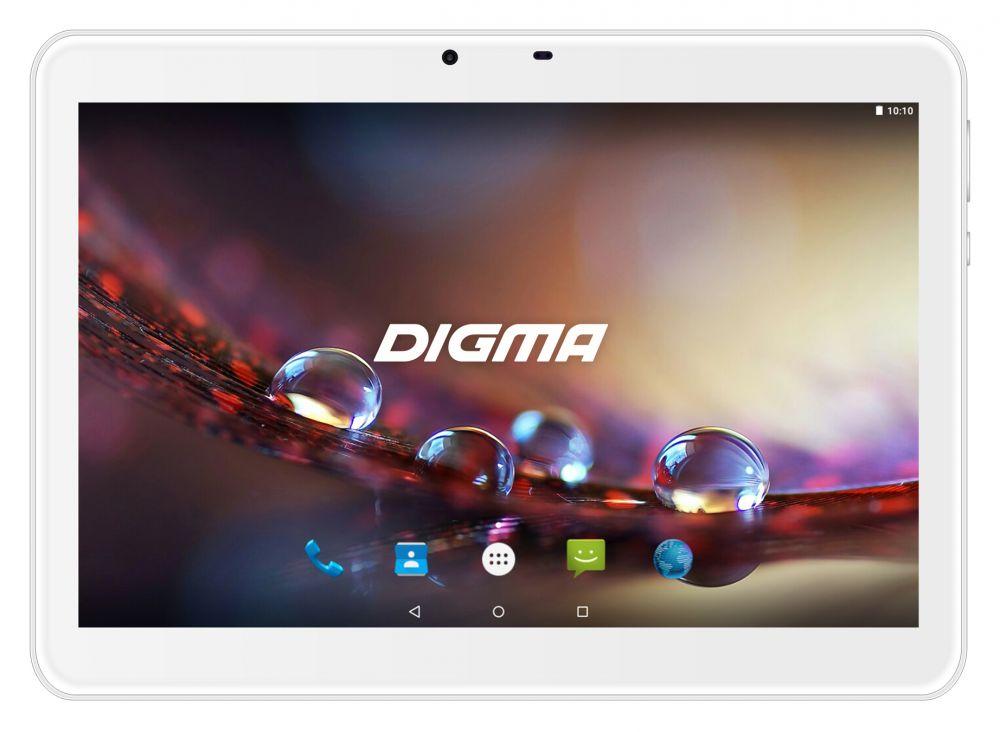 "Планшет Digma Plane 1572N 3G MTK8321 (1.3) 4C/RAM2Gb/ROM16Gb 10.1"" IPS 1280x800/3G/Android 7.0/серебристый/2Mpix/0.3Mpix/BT/GPS/WiFi/Touch/microSD 64Gb/minUSB/5000mAh"
