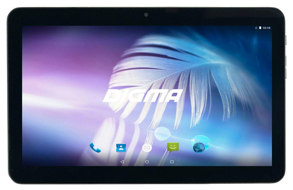 "Планшет Digma Optima 1024N 4G SC9832 (1.3) 4C/RAM1Gb/ROM16Gb 10.1"" TN 1024x600/3G/4G/Android 7.0/черный/0.3Mpix/BT/GPS/WiFi/Touch/microSD 128Gb/minUSB/4000mAh"