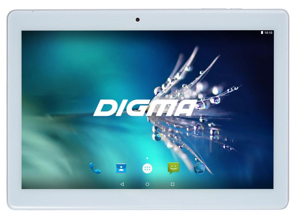 "Планшет Digma Optima 1025N 4G MTK8735V (1.0) 4C/RAM2Gb/ROM16Gb 10.1"" IPS 1280x800/3G/4G/Android 7.0/белый/2Mpix/0.3Mpix/BT/GPS/WiFi/Touch/microSD 64Gb/minUSB/5000mAh"