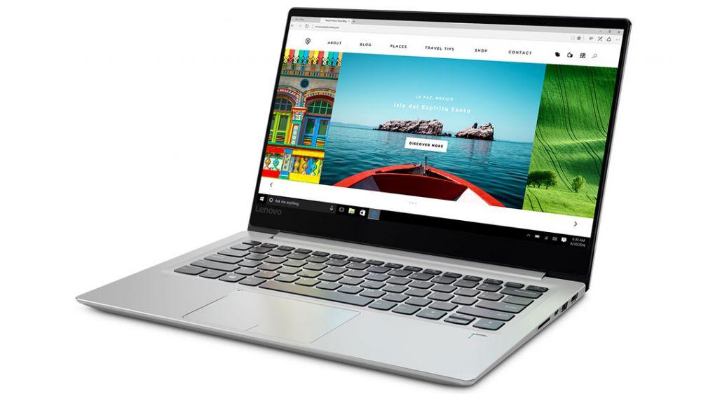 "Ноутбук Lenovo IdeaPad 720S-14IKBR Core i7 8550U/8Gb/SSD256Gb/nVidia GeForce Mx150 2Gb/14""/IPS/FHD (1920x1080)/Windows 10/silver/WiFi/BT/Cam"