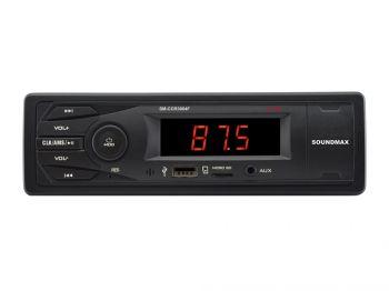 Автомагнитола Soundmax SM-CCR3064F 1DIN 4x40Вт