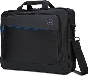 """Сумка для ноутбука 14.1"""" Dell Professional Briefcase черный/серый нейлон (460-BCBF)"""