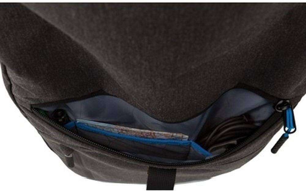 "Рюкзак для ноутбука 15.6"" Dell Venture Backpack серый/черный нейлон (460-BBZP)"