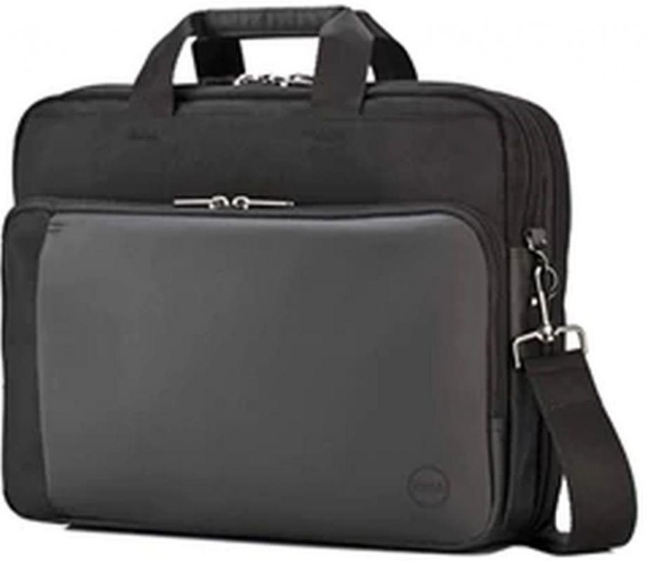 """Портфель для ноутбука 15.6"""" Dell Professional Briefcase черный/серый нейлон (460-BBOB)"""