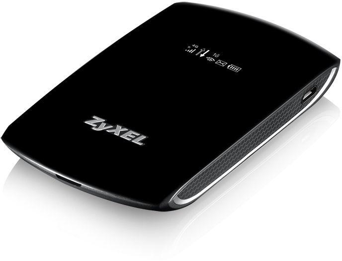 Модем 2G/3G/4G Zyxel WAH7706 USB Wi-Fi Firewall +Router внешний черный