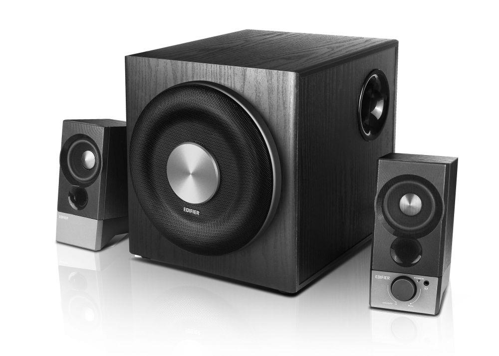 Колонки Edifier M3600D 2.1 черный 200Вт