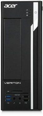 ПК Acer Veriton X2640G SFF i3 6100 (3.7)/4Gb/500Gb 7.2k/HDG530/Windows 10 Professional 64/GbitEth/220W/клавиатура/мышь/черный