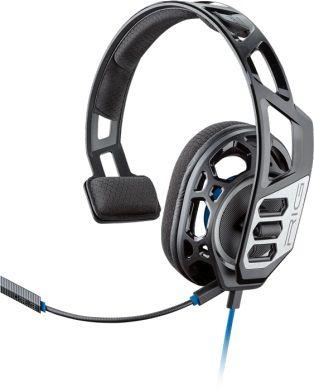 Наушники с микрофоном Plantronics RIG 100HS черный/синий 1.3м накладные оголовье (209190-05)