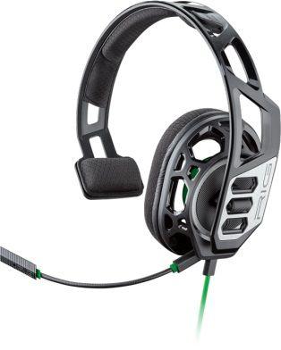 Наушники с микрофоном Plantronics RIG 100HX черный/зеленый 1.3м накладные оголовье (209180-05)