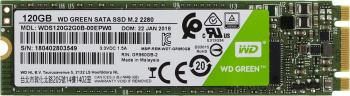 Накопитель SSD WD Original SATA III 120Gb WDS120G2G0B Green M.2 2280