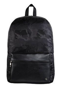 """Рюкзак для ноутбука 14"""" Hama Mission Camo черный/камуфляж полиэстер (00101598)"""