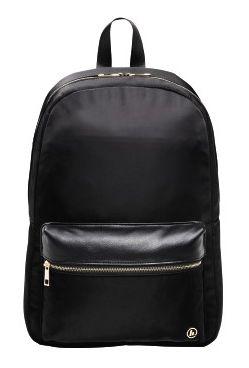 """Рюкзак для ноутбука 14"""" Hama Mission черный/золотистый полиэстер (00101588)"""