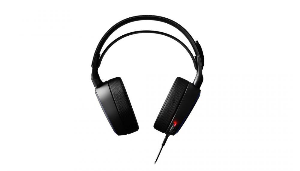 Наушники с микрофоном Steelseries Arctis Pro черный 3м мониторы оголовье (61486)