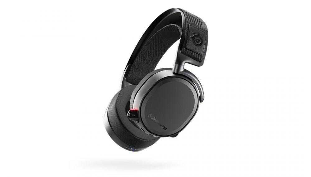 Наушники с микрофоном Steelseries Arctis Pro Wireless черный мониторы BT оголовье (61473)