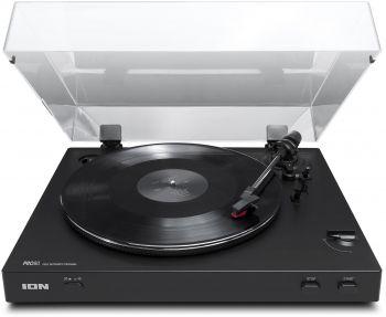 Проигрыватель винила ION Audio PRO 80 частично автоматический черный