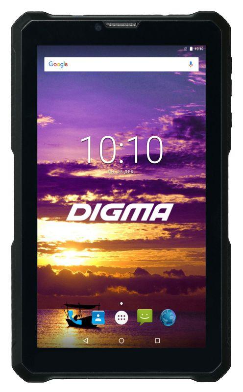 "Планшет Digma Plane 7565N 3G Football theme SC7731C (1.2) 4C/RAM1Gb/ROM16Gb 7"" IPS 1024x600/3G/Android 7.0/зеленый/2Mpix/0.3Mpix/BT/GPS/WiFi/Touch/microSD 64Gb/minUSB/4100mAh"