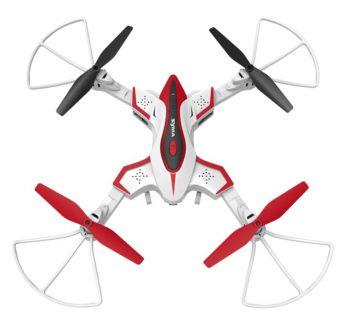 Квадрокоптер Syma X56W 1Mpix 720p ПДУ белый