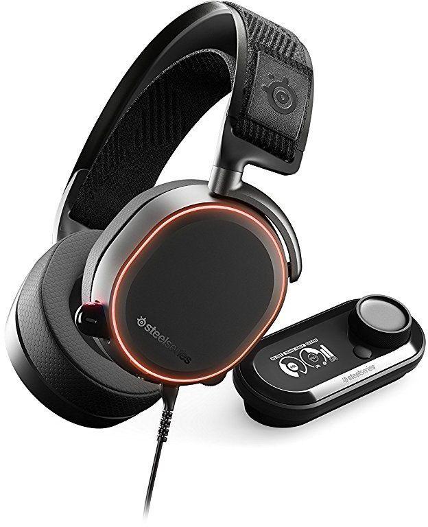 Наушники с микрофоном Steelseries Arctis Pro + GameDAC черный 3м мониторы оголовье (61453)