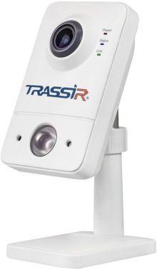 Видеокамера IP Trassir TR-D7111IR1W 2.8-2.8мм цветная корп.:белый