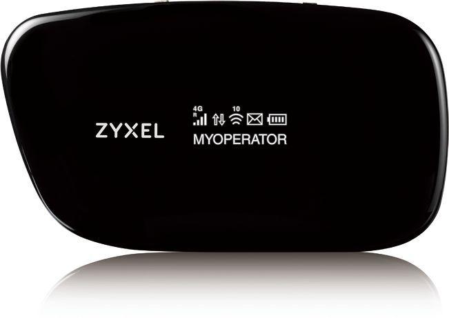 Модем 2G/3G/4G Zyxel WAH7608 USB Wi-Fi Firewall +Router внешний черный