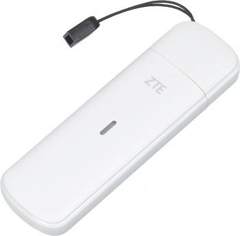 Модем 2G/3G/4G ZTE MF833T USB Firewall +Router внешний белый