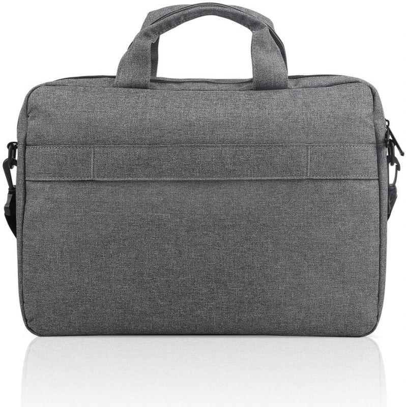 "Сумка для ноутбука 15.6"" Lenovo Toploader T210 серый полиэстер (GX40Q17231)"