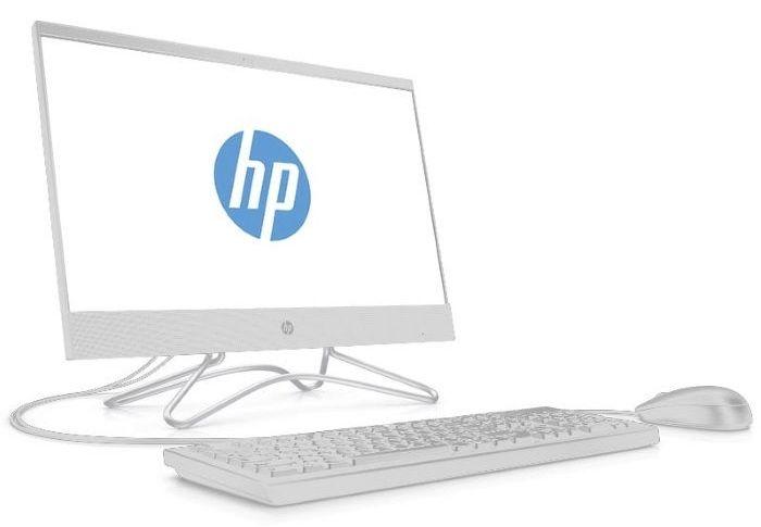 "Моноблок HP 200 G3 21.5"" Full HD i5 8250U (1.6)/4Gb/1Tb 7.2k/SSD128Gb/UHDG 620/DVDRW/Free DOS/GbitEth/WiFi/65W/клавиатура/мышь/белый 1920x1080"