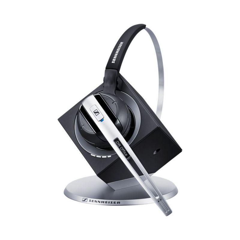 Наушники с микрофоном Sennheiser DW 10-EU черный накладные Radio оголовье (504300)