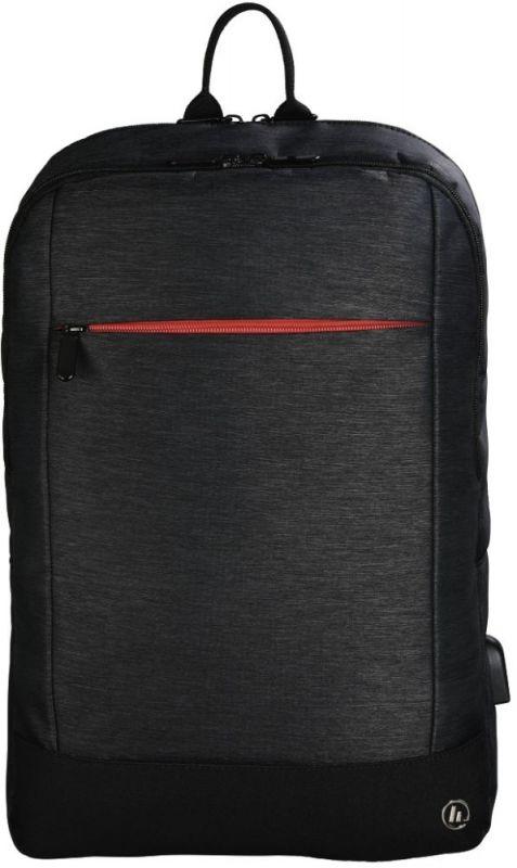 """Рюкзак для ноутбука 15.6"""" Hama Manchester черный полиэстер (00101825)"""