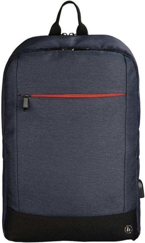 """Рюкзак для ноутбука 15.6"""" Hama Manchester синий полиэстер (00101826)"""