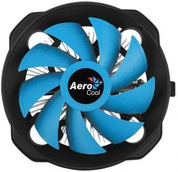 Устройство охлаждения(кулер) Aerocool BAS U-PWM Soc-FM2+/AM2+/AM3+/AM4/1150/1151/1155/ 4-pin 19-27dB Al 361gr Ret