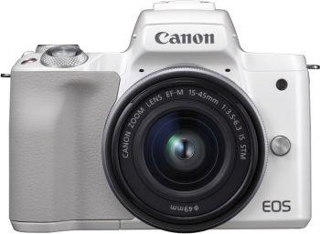 Фотоаппарат Canon EOS M50 белый 24.1Mpix 3