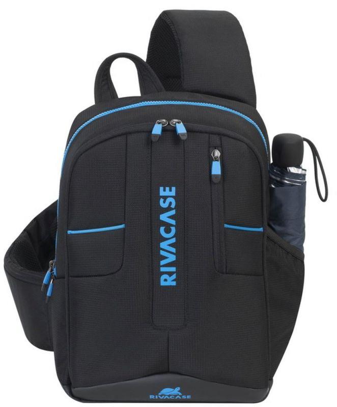 """Рюкзак для ноутбука 13.3"""" Riva 7870 черный полиэстер"""
