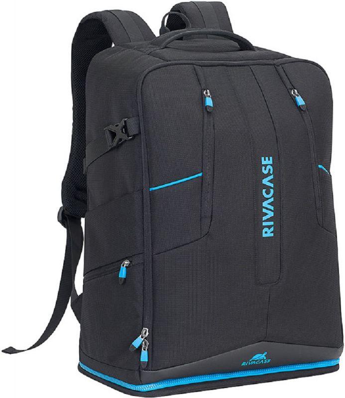 """Рюкзак для ноутбука 16"""" Riva 7890 черный полиэстер"""