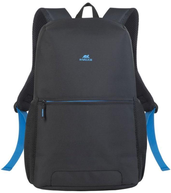 """Рюкзак для ноутбука 15.6"""" Riva 8067 черный полиэстер"""